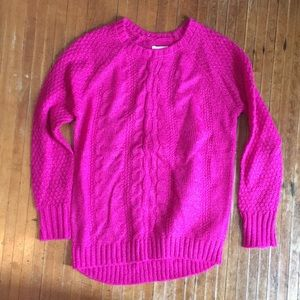 Pink children's place 7/8 sweater